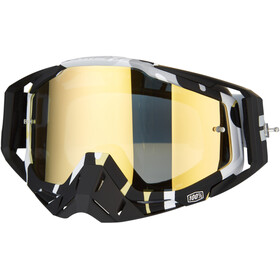 100% Racecraft Anti Fog Mirror Goggles, ergoflash
